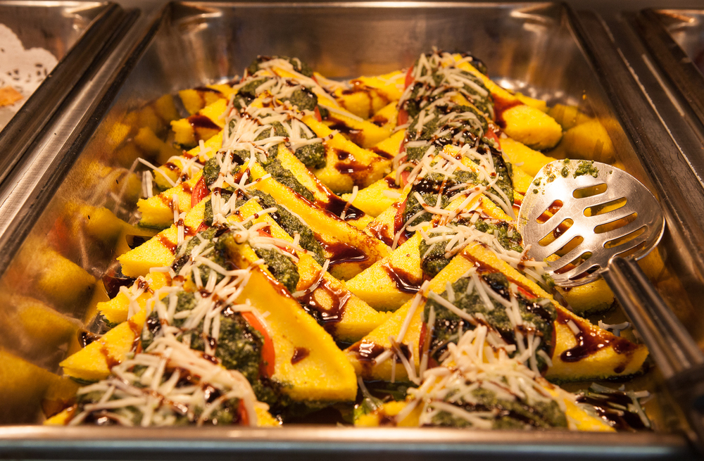 Polenta From Mana Foods Deli Hot Food Bar