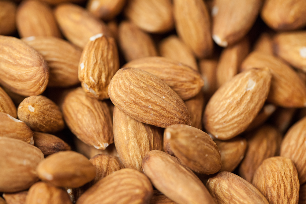 Mana Foods Bulk Department Organic Almonds