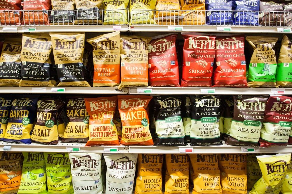 Kettle Chips at Mana Foods Grocery Department