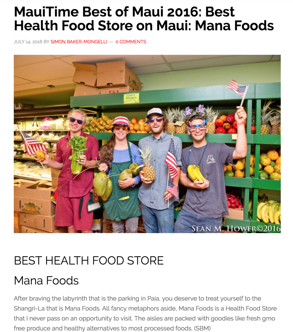Mana-foods-Best-health-food-store-Maui-2016-MauiTime