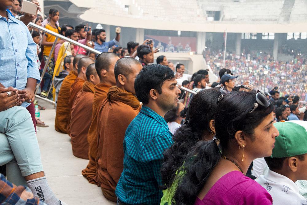 wagah border monks
