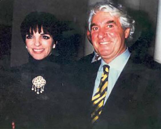 Liza Minelli at Santini Belgravia London