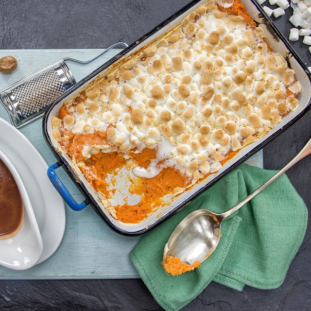 It's Thanksgiving and we're sharing lots of tips to pack more umami into your favorite festive dishes - including Laura's favorite: umami sweet potato casserole with marshmallows and Parmesan.  Video on YouTube and recipe on the blog now!