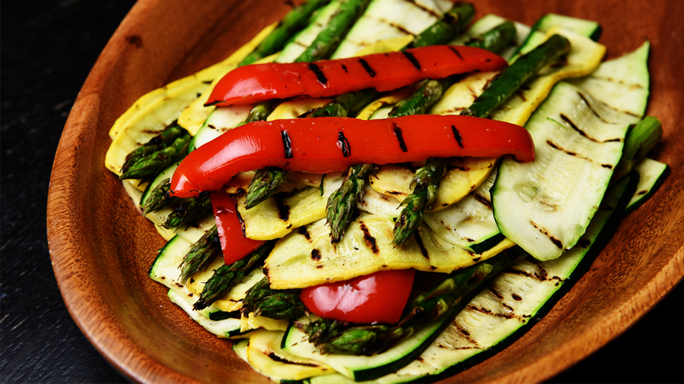 Grilled Italian Vegetables