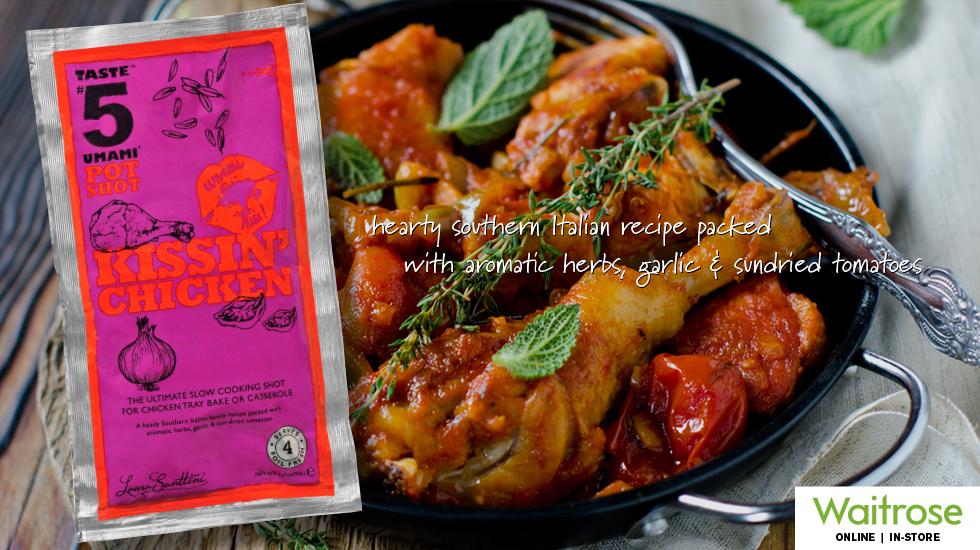 """Taste #5 Umami PotShot """"Kissin' Chicken"""""""