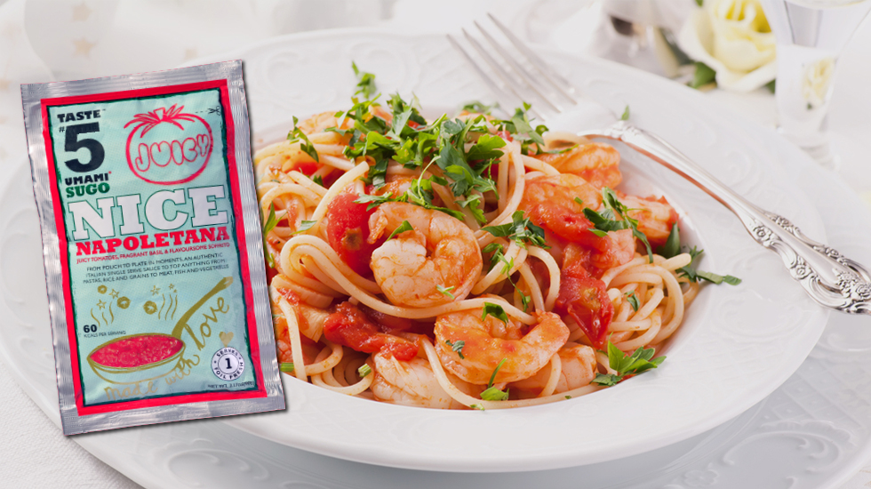 "Taste #5 SUGO ""Nice Napoletana"" Umami Ready-2-Eat"