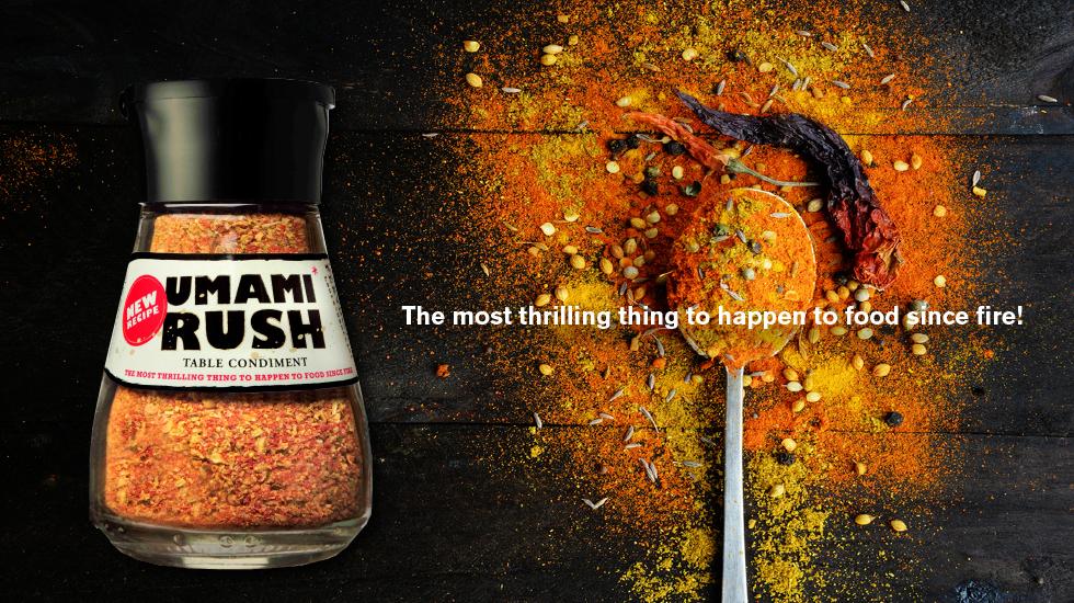 Taste #5 Umami Rush Condiment