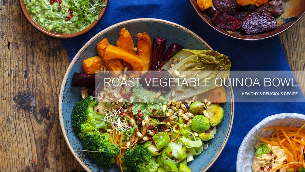 Roast Vegetable Quinoa Bowl