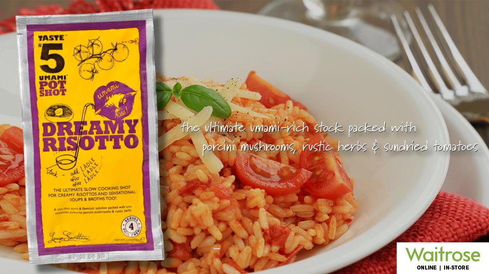 """Taste#5 PotShot """"Dreamy Risotto"""""""