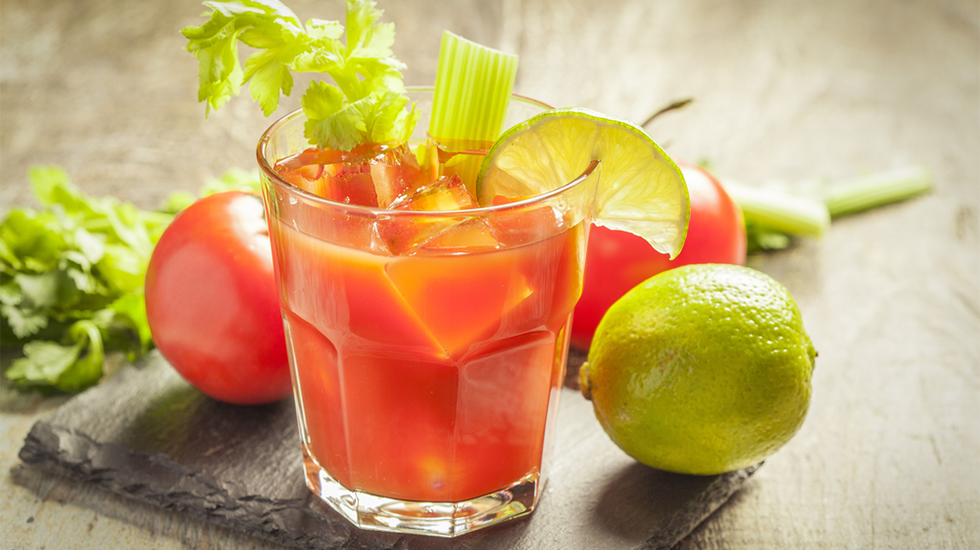 Tomato Water Bloody Mary