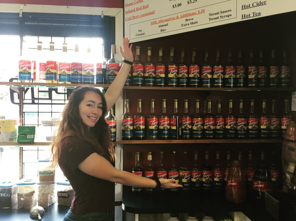 Flavors - We carry more than 60 flavors year round, plus more than 20 sugar-free flavors!Want pumpkin in July? No problem! We carry Pumpkin Pie or Spice year round.Looking for something different and unique? Try a secret recipe like our Pancake Latte!