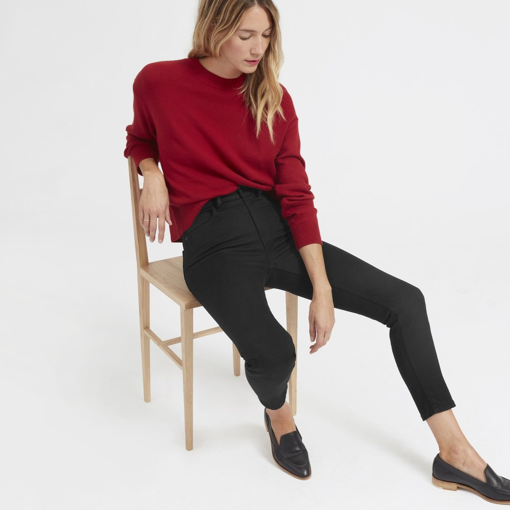 The High-Rise Skinny Jean, $68
