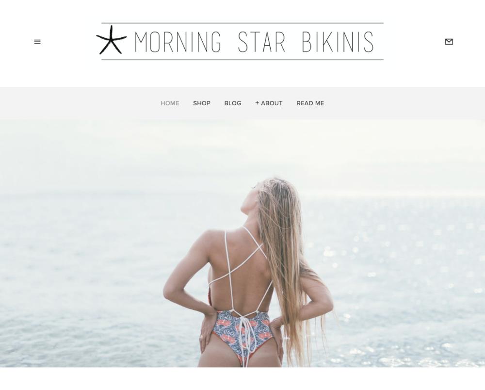 Morning Star Bikinis Website