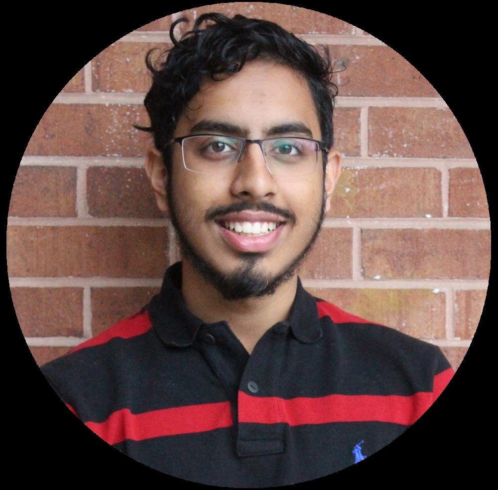 Ibrahim Hussain  Outreach Coordinator
