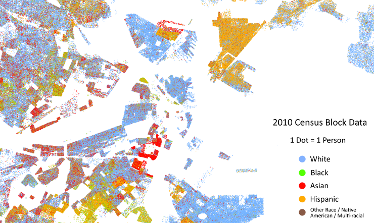 THE NEIGHBORHOOD IS QUITE DISTINCT IN THE CENSUS DATA. CLICK TO OPEN THE FASCINATING UNIVERSITY OF VIRGINIA COOPER CENTER MAP PROJECT TO VISUALIZE ETHNIC PATTERNS FROM THE 2010 CENSUS.
