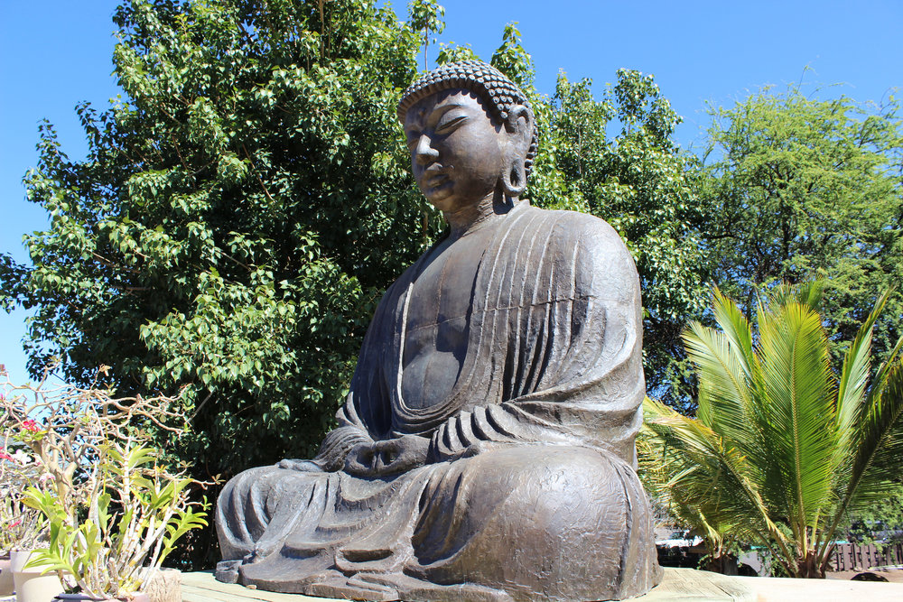 Statue of Buddha at Jodo Mission by Matthew Simpson via Flickr.