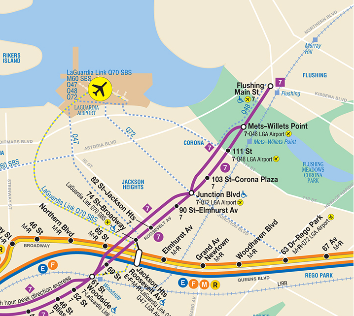 Click to open the full MTA subway map