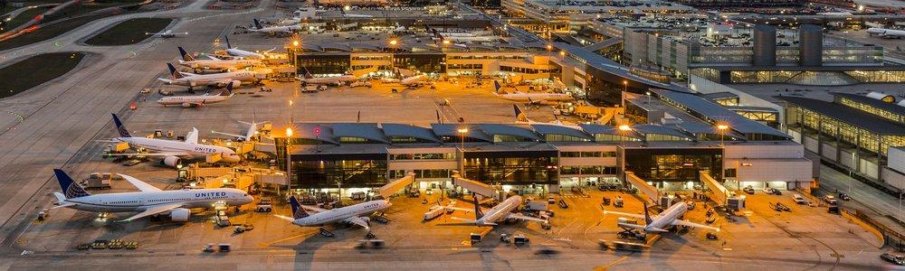 Image of Terminal E courtesy Visit Houston