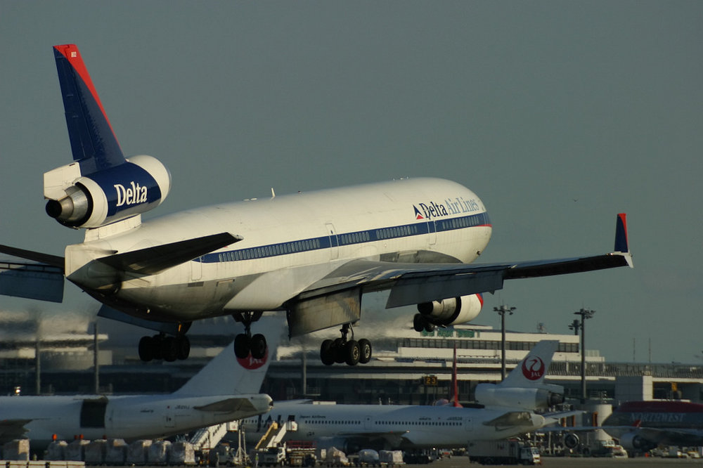MD-11 landing at Narita Airport. Photo by saku_y via Flickr, CC 2.0 license