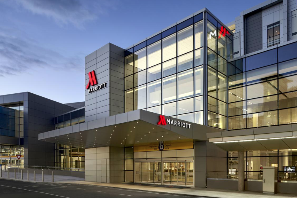 Image courtesy calgary airport marriott in-terminal hotel