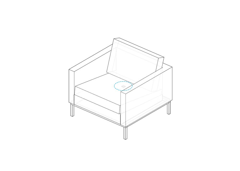 Vibration Sensing on Soft Seating