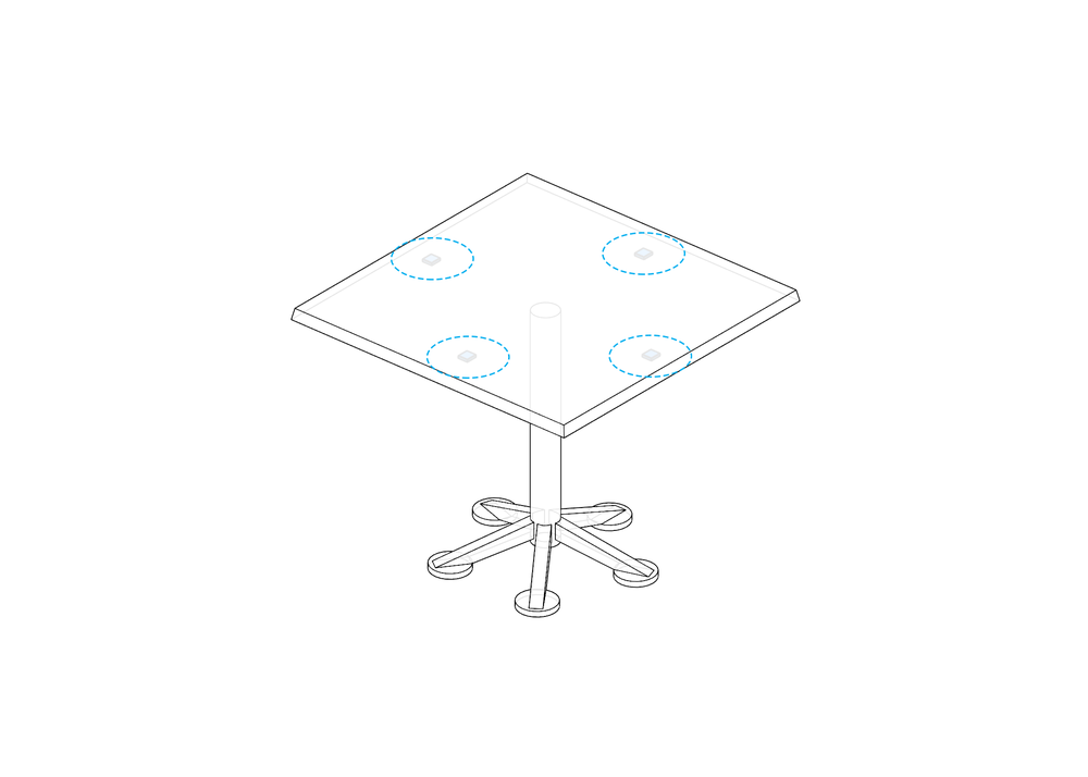 Temperature Sensing on Tables
