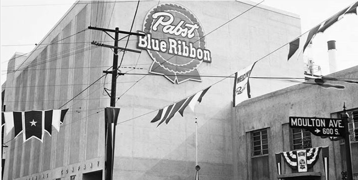 Pabst Brewery, 1954
