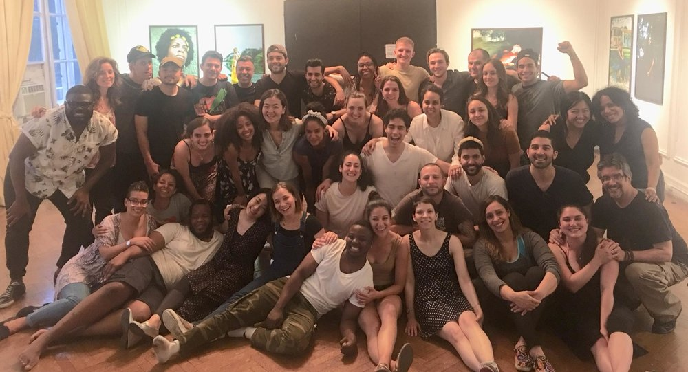 LAByrinthIntensiveEnsemble - Had an incredible week of creating and loving and learning!  World, watch out for all of these artists coming at you.