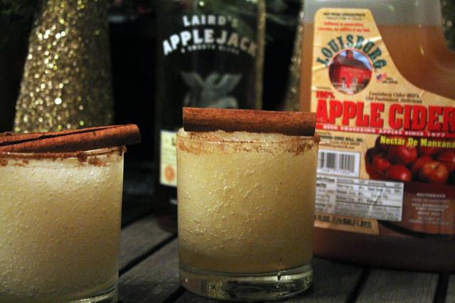 Cinnamon Apple Margarita