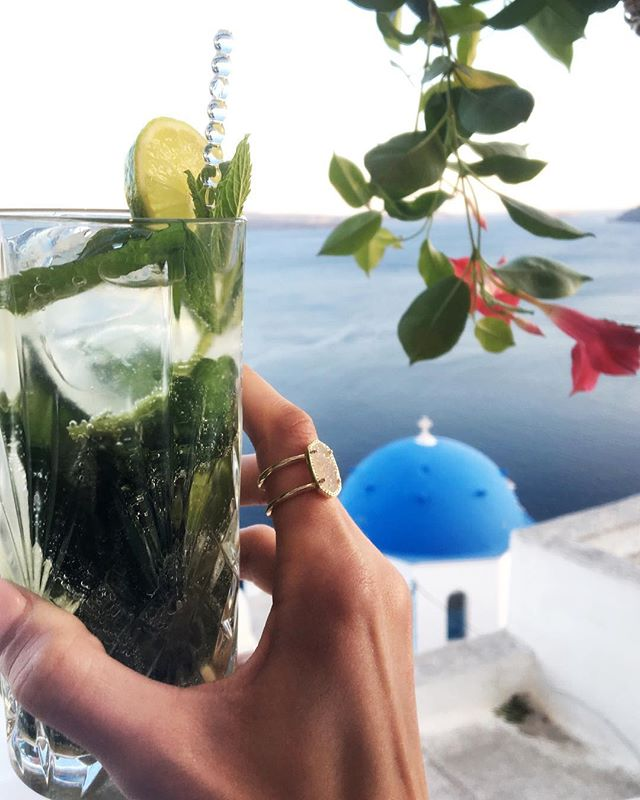 Santorini's Mojito game is 💯