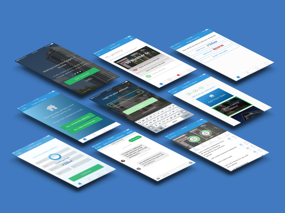 StreamLoan iOS Visual Redesign || Usability Testing | Information Architecture | User Experience Design | User Interface Design