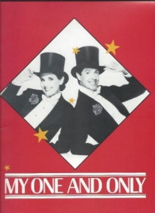 "Lucie Arnaz stars opposite Tommy Tune in ""My One and Only,"" 1985."