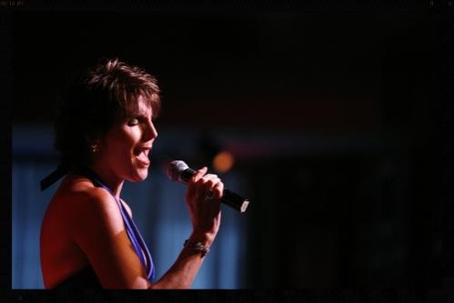 Lucie Arnaz in concert in Birdland, NYC.