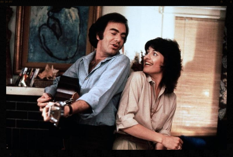 "Lucie Arnaz stars alongside Neil Diamond in ""The Jazz Singer,"" 1980."