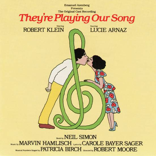 "Album cover for Neil Simon's ""They're Playing Our Song."""