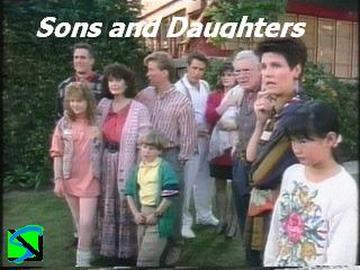 "The cast of ""Sons and Daughters."""