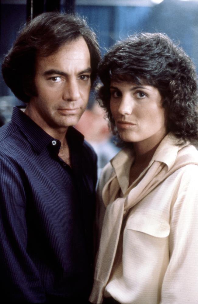 "Lucie & Neil Diamond in ""The Jazz Singer."""