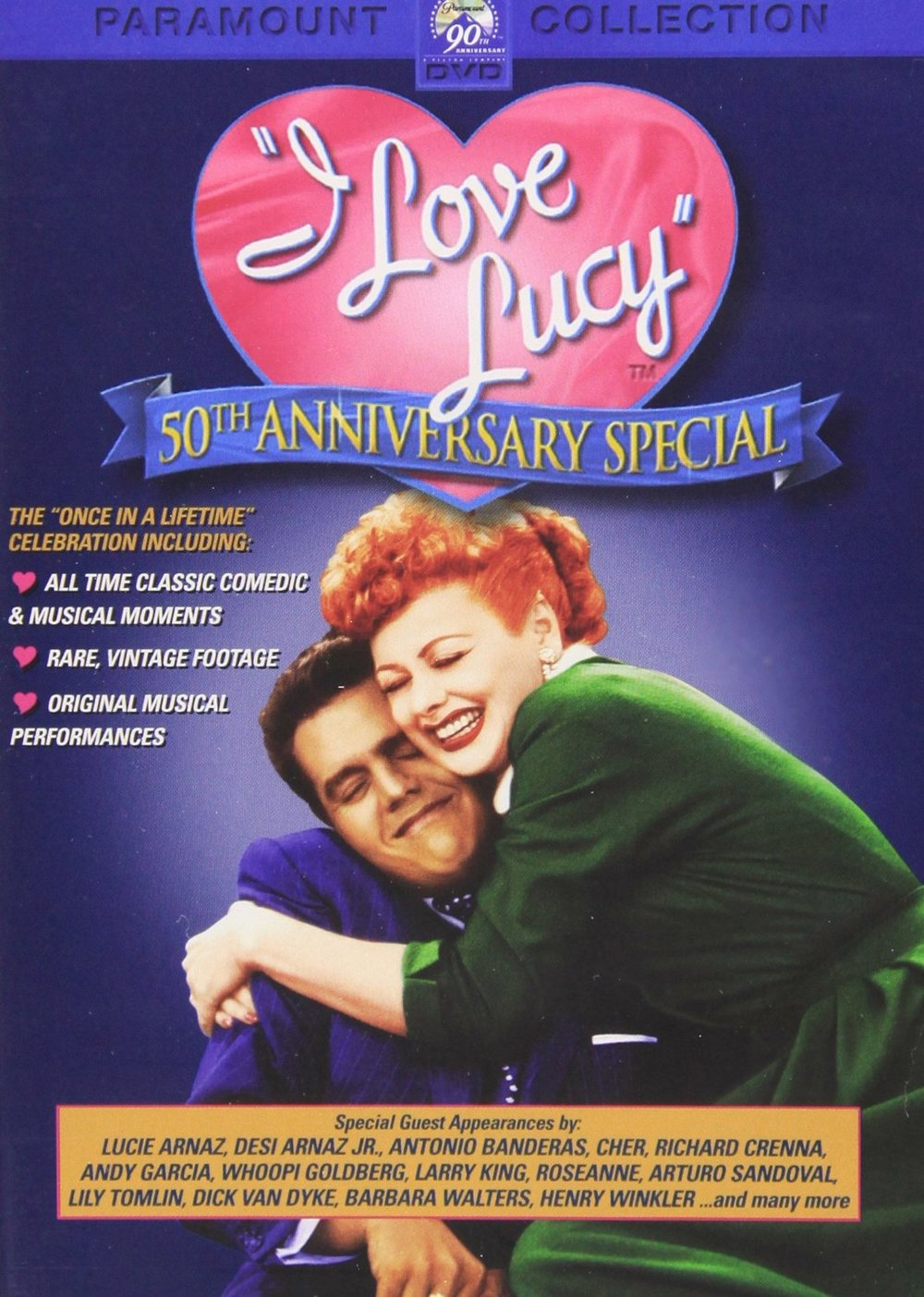 "Click to purchase the ""I Love Lucy 50th Anniversary Special."""