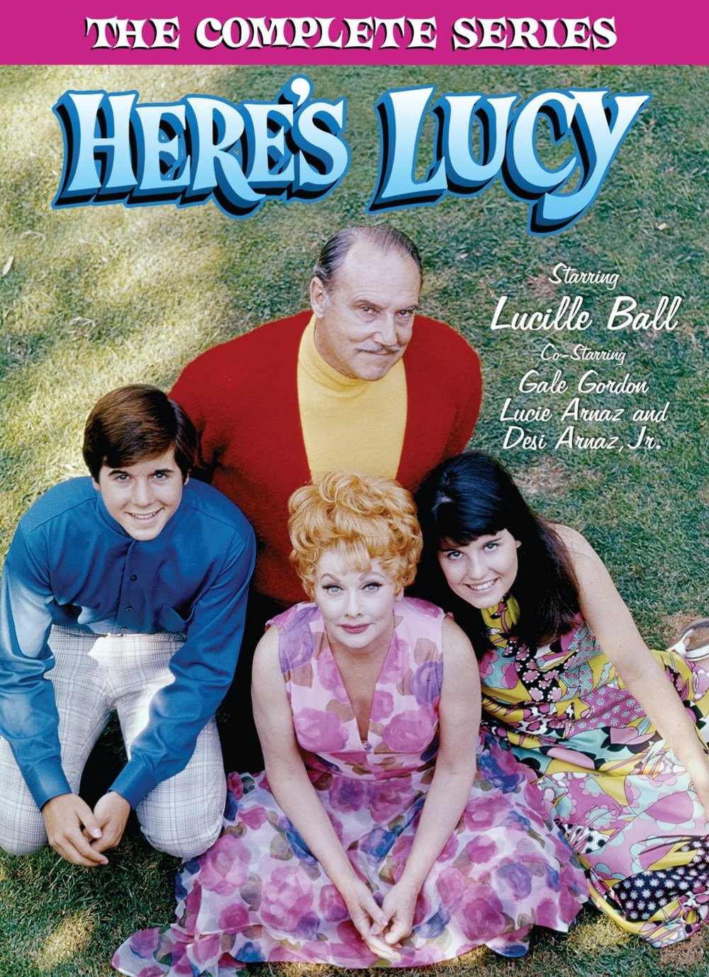 "Click to purchase the complete series of ""Here's Lucy."""
