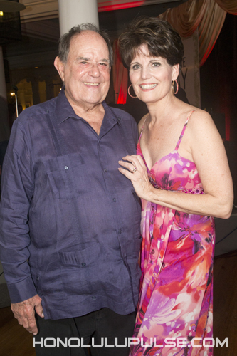 "Lucie Arnaz & Laurence Luckinbill at Jimmy Borges' Fundraiser, ""For the Love Of Jimmy,"" Jan 30, 2016."