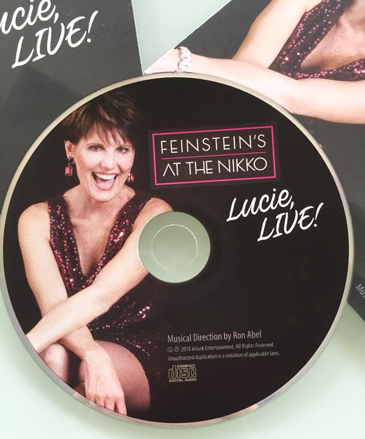 "Lucie's New Album, ""Lucie Live!"" now available at CDBaby."
