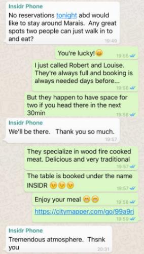 INSIDR Angel chat using community