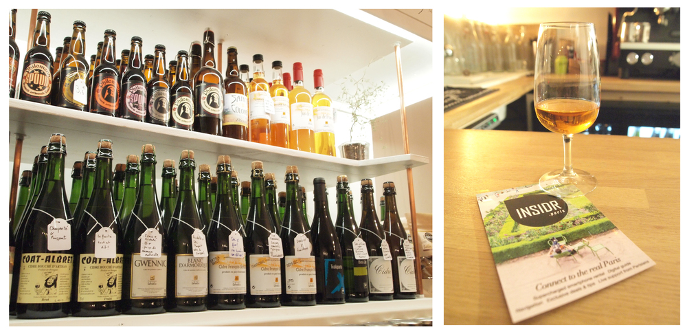 100% Brittany craft ciders and beers