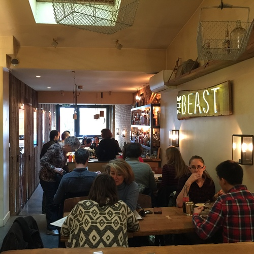 The Best American Style Restaurant in Paris; The Beast interior