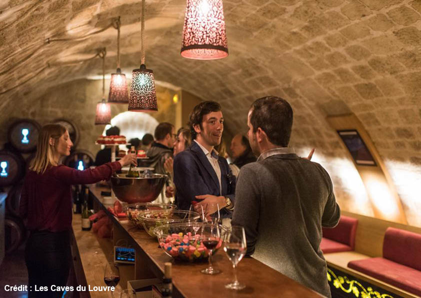 Caves du Louvre wine experience