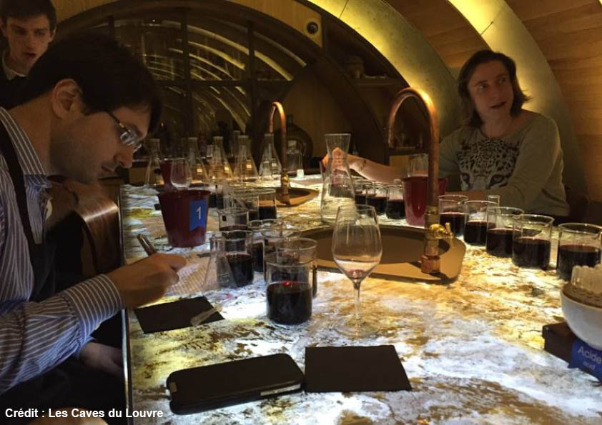 Workshop wine cellar