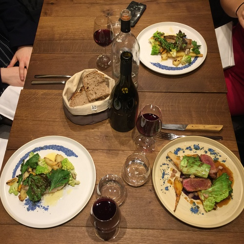 Best bistros in Paris; Elmer food, bistronomy