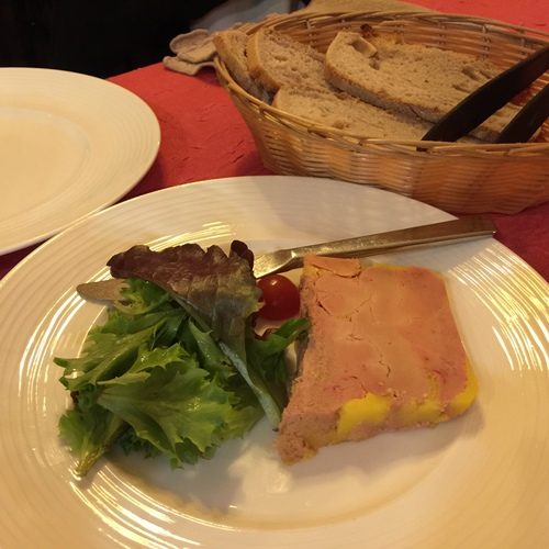 THE BEST RESTAURANT NEAR EIFFEL TOWER: Au Petit Sud-Ouest Foie gras from south-western of France
