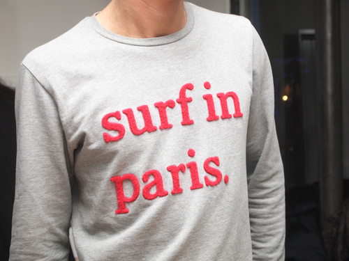 Paris Crepe; Surf in Paris