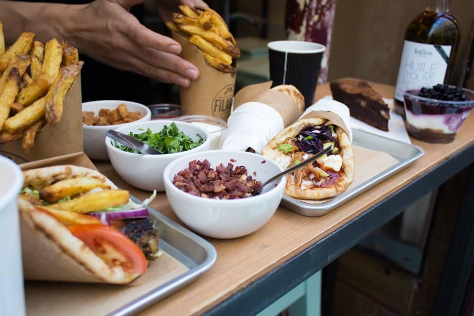 Street food Paris Greek Filakia
